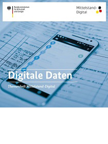"Cover der Publikation ""Digitale Daten"""