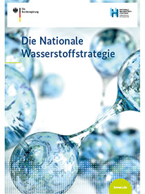 "Cover der Publikation ""Die Nationale Wasserstoffstrategie"""