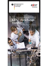 "Cover der Publikation ""EXIST-Forschungstransfer"""