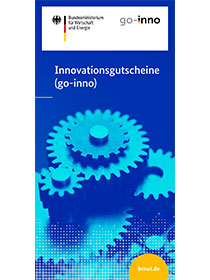 "Cover der Publikation ""BMWi-Innovationsgutscheine (go-Inno)"""