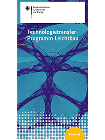 "Cover der Publikation ""Technologietransfer-Programm Leichtbau"""